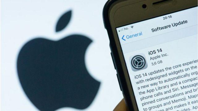 Teléfono de Apple.