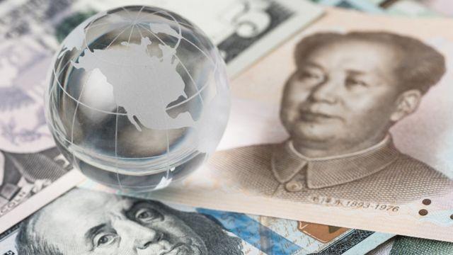 US China money