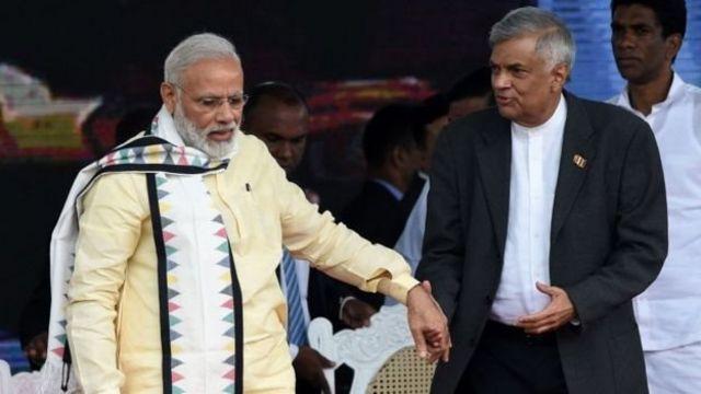 राष्ट्रपति रनिल विक्रमासिंघे को भारत समर्थक श्रीलंकाई नेता माना जाता है