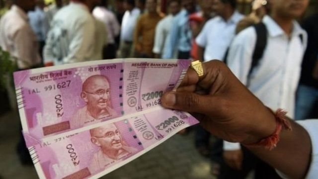 दो हज़ार रुपए का नया नोट