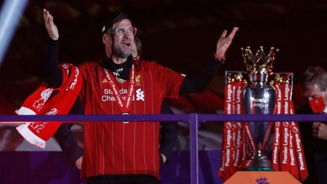 Klopp Claims Record Premier League Manager Of The Season Award