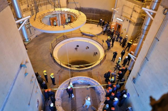 ядерный реактор в Араке, недалеко от Тегерана