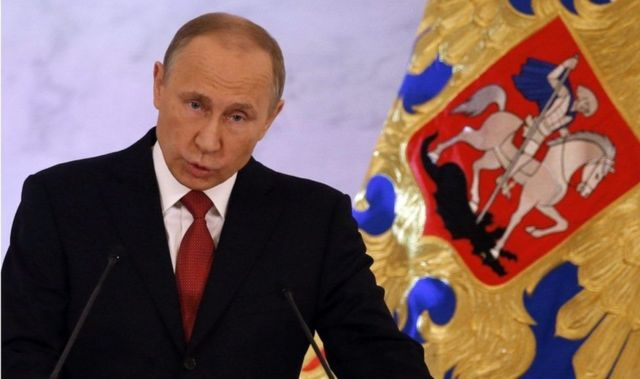 روسی صدر ولادمیر پوتن