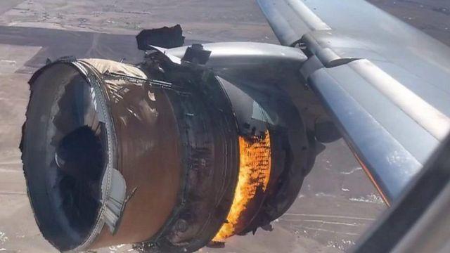بوينغ 777: تعليق استخدام العشرات من الطائرات حول العالم بعد حادث كولورادو
