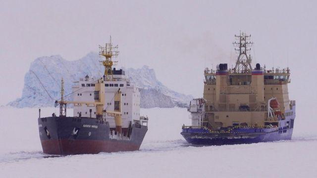 Kuzey Kutbu'nda Buz Kıranlar