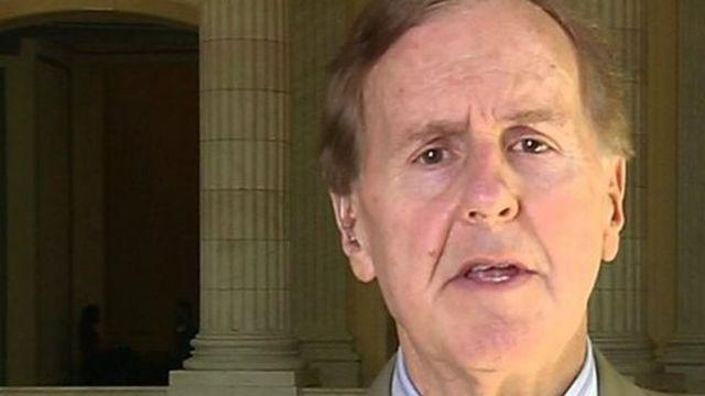 Representante republicano a la Cámara Baja Robert Pittenger, de Carolina del Norte