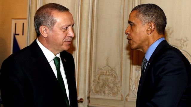 Erdogan iyo Obama