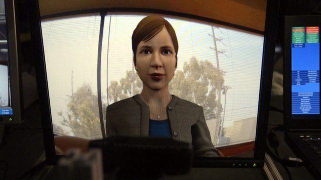 Rachel - a virtual human