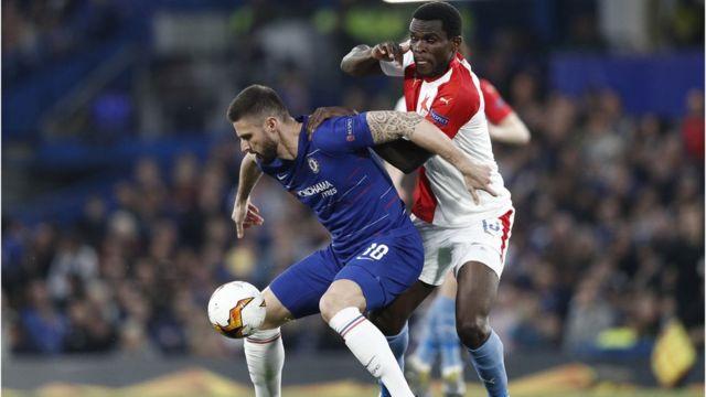 Onye otu Chelsea na Slavia Praha