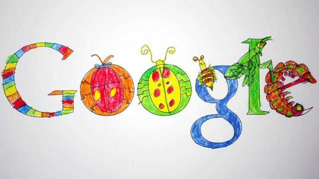 Google en colores infantiles