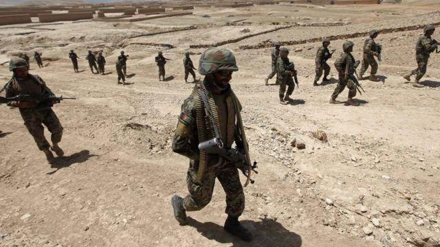 Ejército afgano en 2014