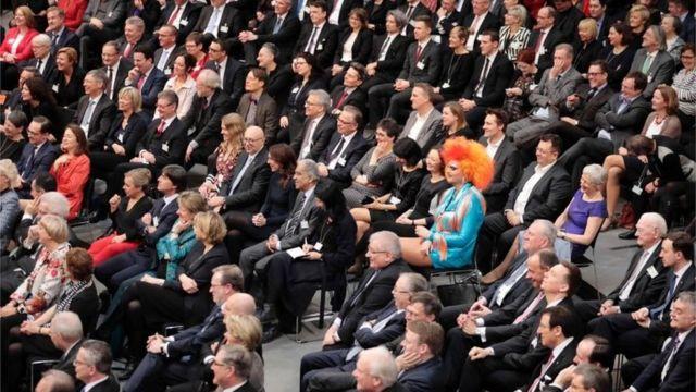 يمثل المجلس الاتحادي الولايات الألمانية