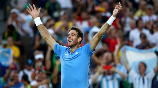 Partida em que tenista argentino venceu o espanhol Rafael Nadal