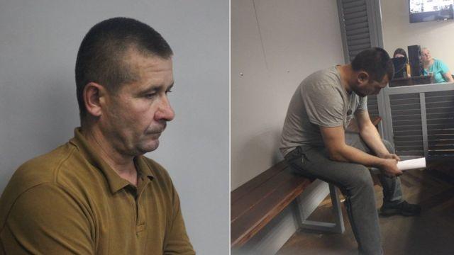 Затримані - старший сержант Володимир Петровець та лейтенант Іван Приходько