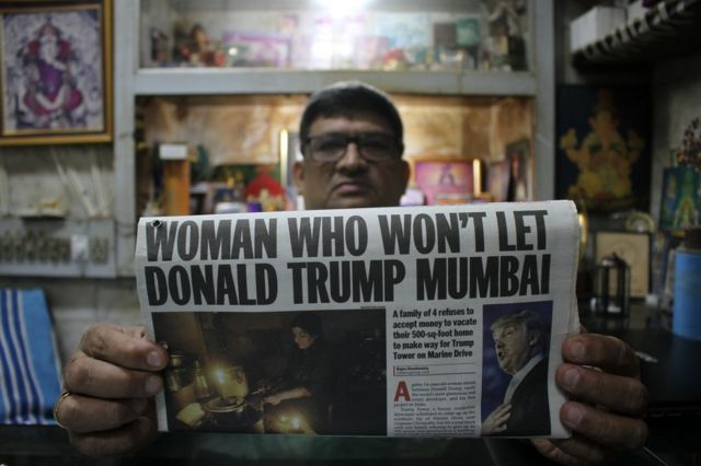 The Indian woman who 'stood up' to Donald Trump