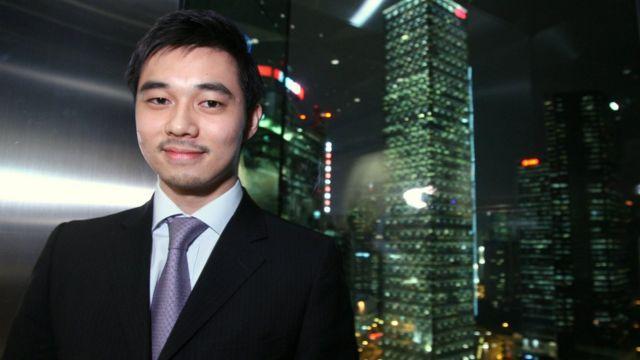 Luật sư Wilson Leung梁允信, một thành viên của nhóm Progressive Lawyer Group