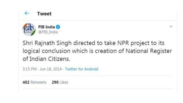 National Register of Indian Citizens