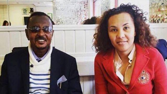 Farhiya et son père Siid Ahmed Sharif
