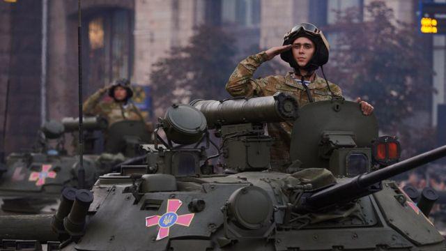 Танк армии украины