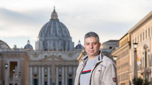 """El director del documental """"Francesco"""", Evgeny Afineevsky"""
