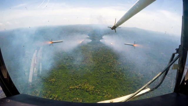 Конго, обстрел боевиков