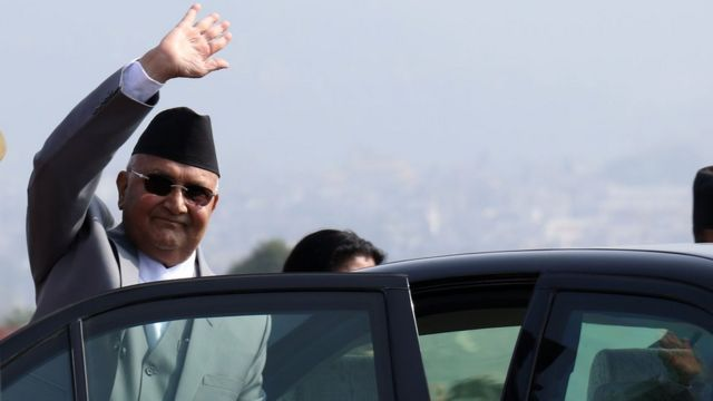 भारत उड्नुअघि ओली