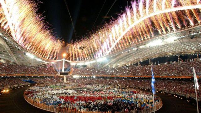 Cerimônia de abertura Jogos Olímpicos