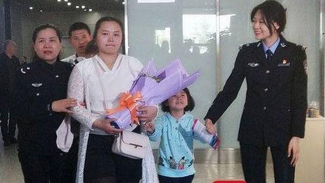 Kang Ying y su hija