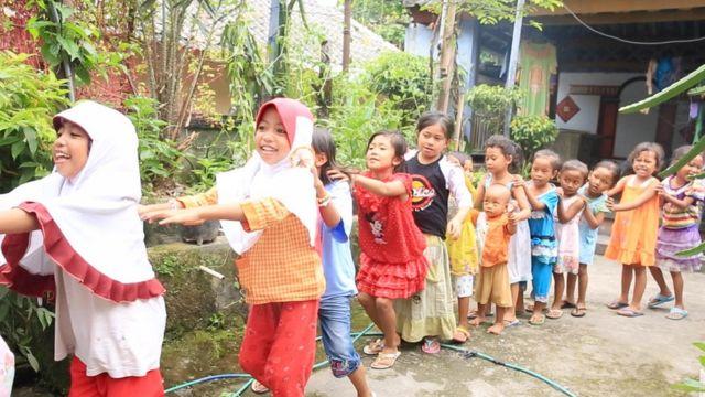 Anak-anak buruh migran