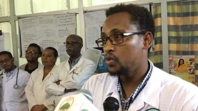 Daarektara medikaalaa Hospitaala Beetel Dr Abenezar Gezzaahany