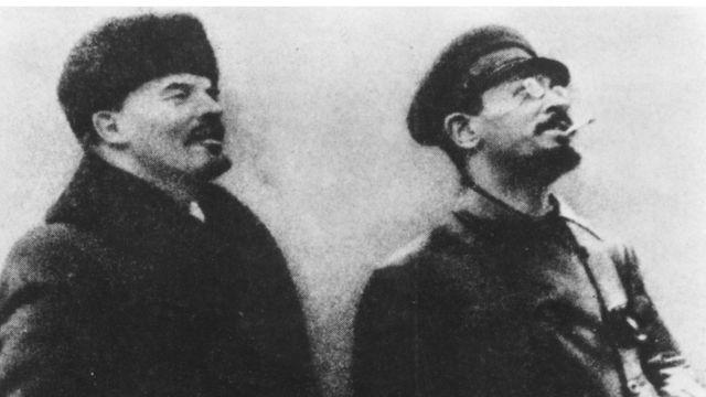 Ленин, Троцкий