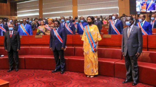 Kabila muri sena ya Congo