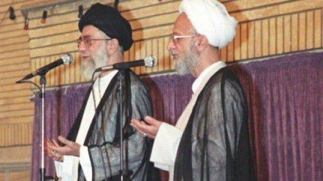 مصباح یزدی و علی خامنهای