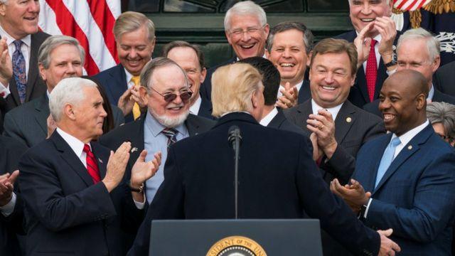 Трамп и конгрессмены