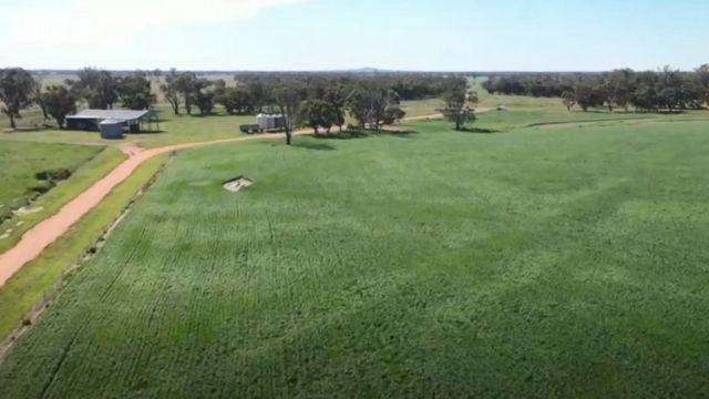 Una granja en Nueva Gales del Sur, Australia