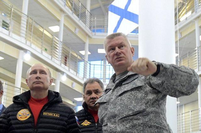 俄國總統普京上個月已經親臨參觀了這個軍事基地