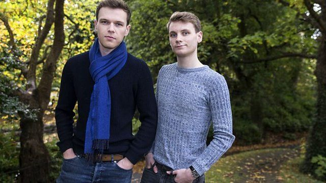 Mark (izquierda) y Peter Lavery