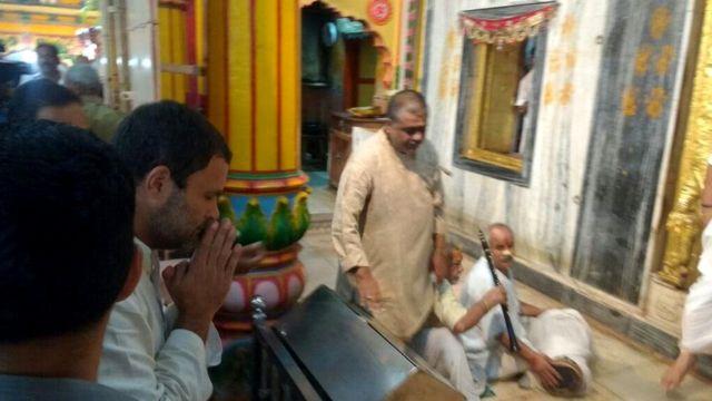 उत्तर प्रदेश में राहुल गांधी की किसान यात्रा