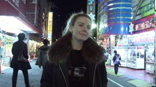 BBC制作人东京拍摄