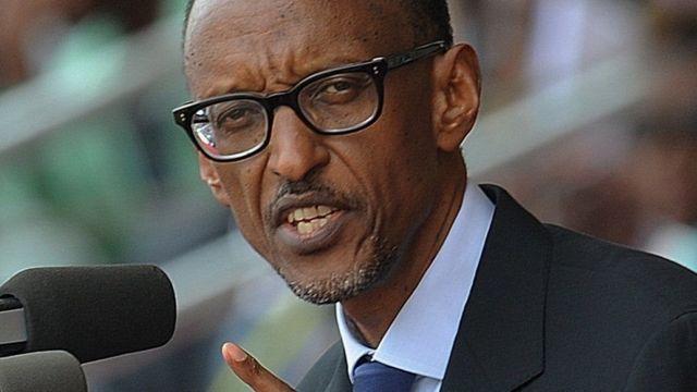 Umukuru w'ingabo z'uRwanda Prezida Paul Kagame