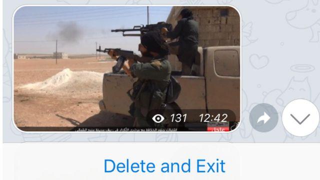 """Uso do Telegram se divide entre grupos de propaganda, onde apenas os administradores podem fazer postagens, e """"salas de bate-papo"""", onde articulações práticas sobre ataques seriam realizadas"""