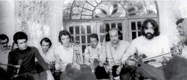 جمعی از اعضای کانون چاووش