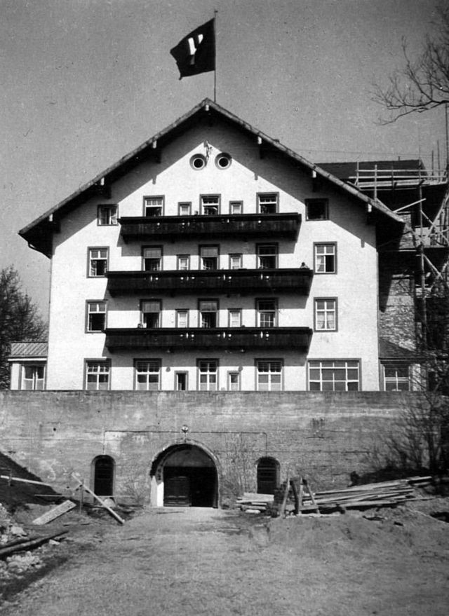 Lebensborn Nazi maternity hospital, used as a base for German programme opened 1935 was one of the most secret and terrifying Nazi projects. (Photo by: Universal History Archive/Universal Images Group via Getty Images)