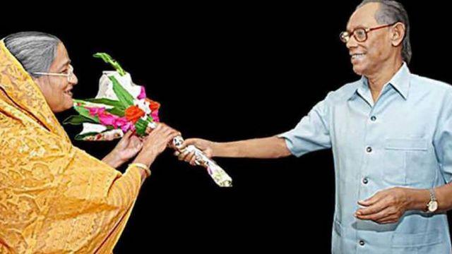 শেখ হাসিনার ৬০ তম জন্মদিনে ফুলেল শুভেচ্ছা জানান ওয়াজেদ মিয়া