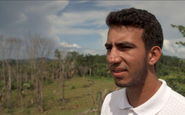 Perkebunan keluarga Gustavo dilanda kebakaran yang terjadi secara ilegal Agustus lalu
