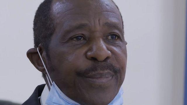 Paul Rusesabagina yeretswe abanyamakuru ku itariki 31/08 mu gihe cy'umwanya muto, ntiyahawe umwanya wo kugira icyo avuga