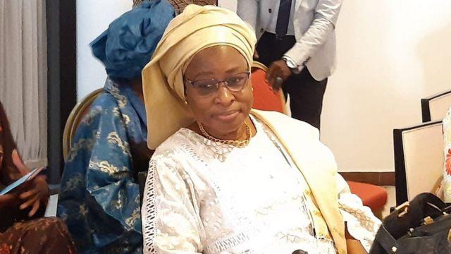 Aby Diallo, présidente de l'Association des femmes juristes du Sénégal