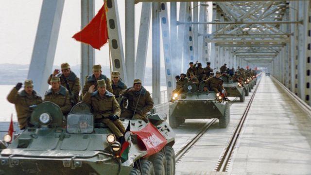 خروج نظامیان شوروی سابق از افغانستان