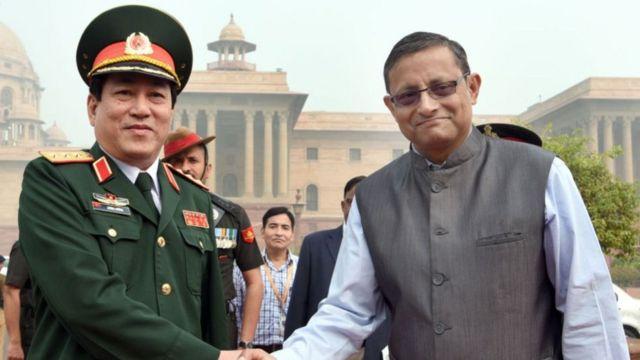 Tướng Lương Cường thăm Ấn Độ năm 2017
