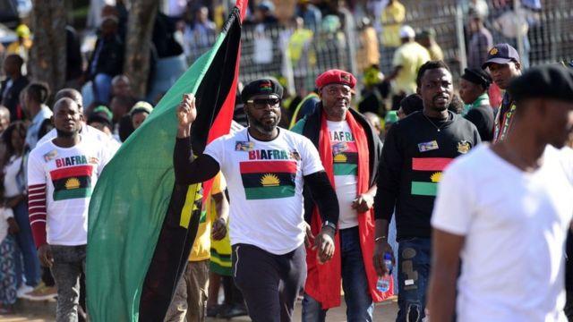 Ndị na-achọ nnwereonwe Biafra